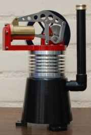 Robinson style hot air engine
